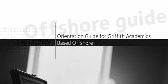 Offshore Academic Orientation Guide